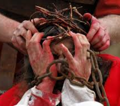 A crown of thorns for the King